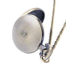 New Arrive Antique Design Gear Pocket Watch Steampunk Quartz Watches Men Gift