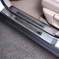 4PCS/SET Stainless Steel Scuff Plate Door Sill For X-trail T32 Rogue Xtrail 2014 2015 2016 SUV Auto Car Accessories