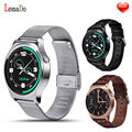 Lemado gw01 bluetooth smartwatch smart watch with heart rate monitor remoto câmera relógio de pulso para ios apple huawei andriod os