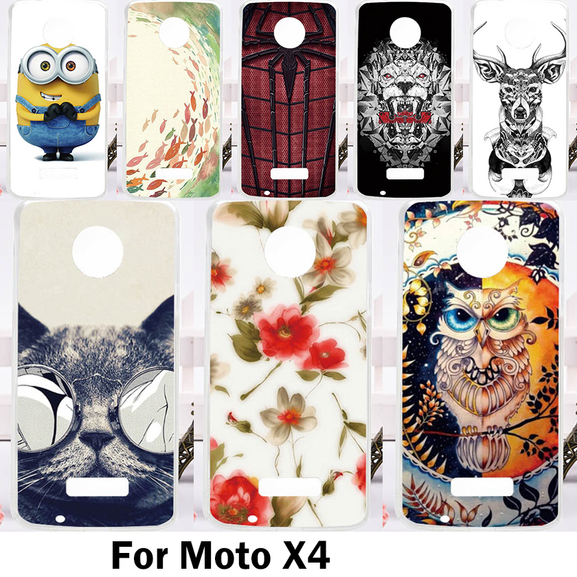 Hard Plastic Phone Cases For Motorola MOTO Z 2016 MOTO Z Droid X4 XT1650 XT1650-05/Z Style/X4 MOTO-Z Zstyle Cover Bag Housing