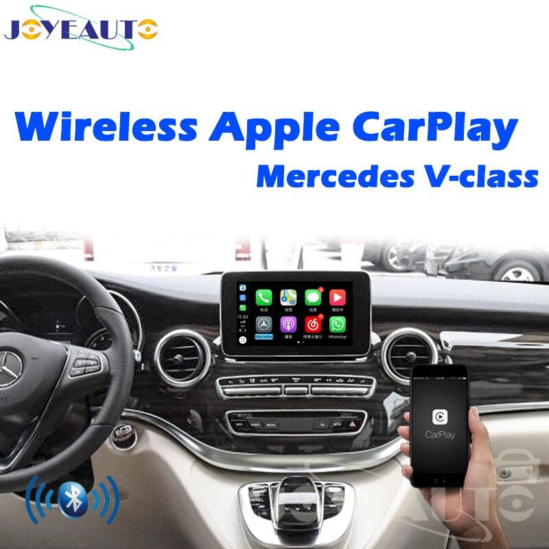 Joyeauto après-vente multimédia Mercedes classe V sans fil OEM Apple Carplay mise à niveau 2015-2018 avec caméra inversée