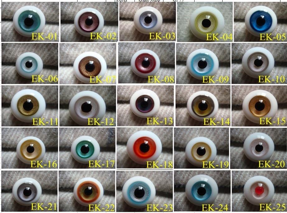 EK Hand made BJD Doll Glass eye YOSD MSD SD doll eyes fit for all doll ,Factory sale directly Free shipping fashion free match girl leggings for bjd 1 6 yosd 1 4 msd 1 3 sd10 13 16 ip eid doll clothes sk9