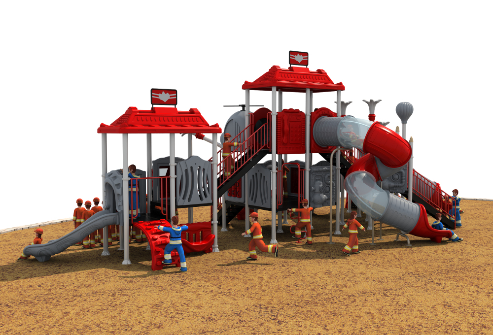 CE,ISO,TUV Professional EXPORTED Outdoor Playground Garden Slide Fire  Control Type Children Play Equipment YLW OUT171033 In Playground From  Sports ...