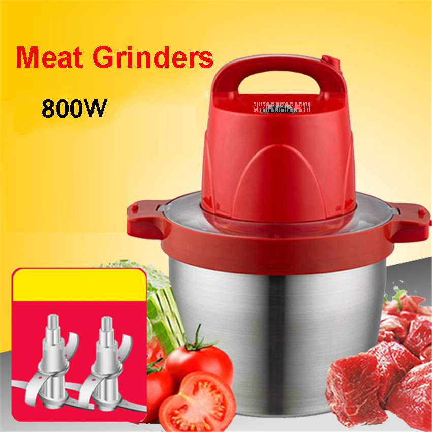220V/50Hz Commercial 800W POWER CAPACITY 5L ELECTRIC DRYING ELECTRIC MAKER MAKER Garlic Crushed Pepper Ginger Slice OL-510