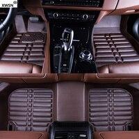 Custom car floor mats for Mitsubishi All Models ASX Lancer SPORT EX Zinger FORTIS Outlander Grandi Auto accessories car styling