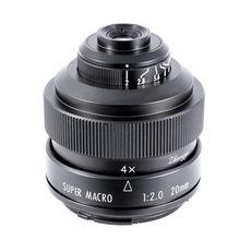 Макро объектив Mitakon Zhongyi 20 мм f/2 4.5X для Canon EF EOS M Nikon F Sony E Pentax K M4/3 Fujifilm X Sony Minolta A mount