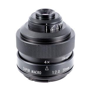 Image 1 - Mitakon Zhongyi 20mm f/2 4.5X סופר מאקרו עדשה עבור Canon EF EOS M ניקון F Sony E pentax K M4/3 Fujifilm X Sony Minolta הר