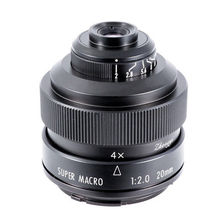 Mitakon Zhongyi 20mm f/2 4.5X süper makro Lens Canon EF EOS M Nikon F Sony E pentax K M4/3 Fujifilm X Sony Minolta bir montaj