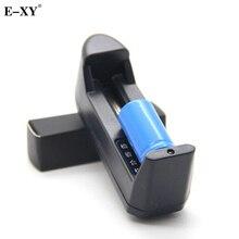 E-XY Lithium Battery Charger 18650 18350 16340 Rechargeable Dry Li-ion Battery US EU Wall Charger for E Cigarette kit E Cig Mod