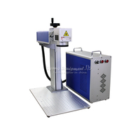 20W 30W separated optical fiber laser metal marking machine used for aluminum gold silver brass engraving for sale