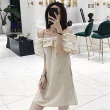 Abbigliamento di marca di modo Nuovo di tendenza di estate delle  increspature del merletto delle donne d6c0829bce0
