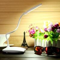 Adjustable USB LED Desk Table Lamp Fashion Reading Lamp Led Rechargable Luminaria De Mesa With 18