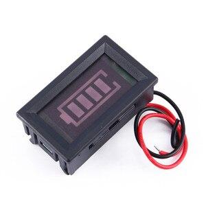 12 В светодиодный тестер Цифровой вольтметр кислотно-свинцовый индикатор для аккумулятора емкость батареи
