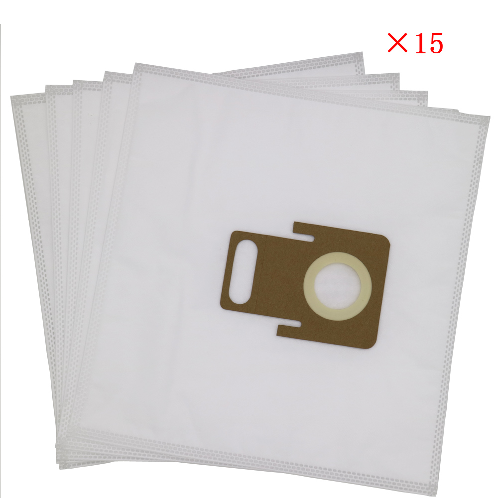 15Pcs High quality vacuum cleaner dust bags for Thomas 787230 hygiene Anti Allergy Aqua THOMAS PET & FAMILY Aqua Thomas Pantner 50pcs high quality dust fog haze oversized breathing valve loop tape anti dust face surgical masks