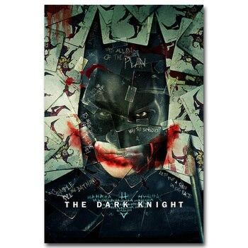 Плакат гобелен шелковый Постер Бэтмен Темный рыцарь в ассортименте