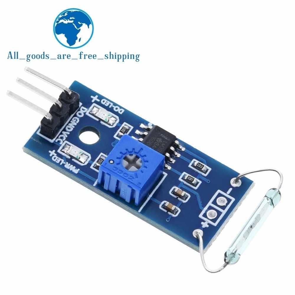 TZT G123-08 Dry reed pipe sensor module magnetron module dry reed switch  magnetic control switch for Arduino