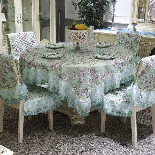 europa gr n rosen blumen tischtuch spitze 130 130 150 150 180 180 cm platz tischdecken. Black Bedroom Furniture Sets. Home Design Ideas