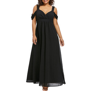 JAYCOSIN clothes dress Women Chiffon Dresses Fashion Cold Sh