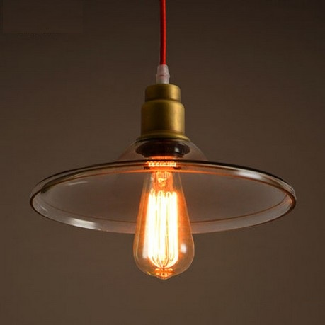Nordic Loft Style Glass Vintage Pendant Light Fixtures Edison Industrial Lighting For Dining Room Hanging Lamp Lustres De Sala 2016 decorative dove design transparent glass pendant light vintage edison light north european style village glass