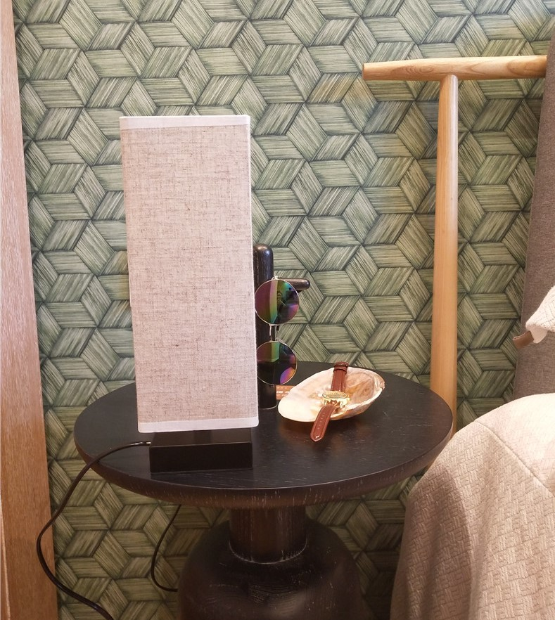 mesa estilo chinês japonês estudo sala estar luzes