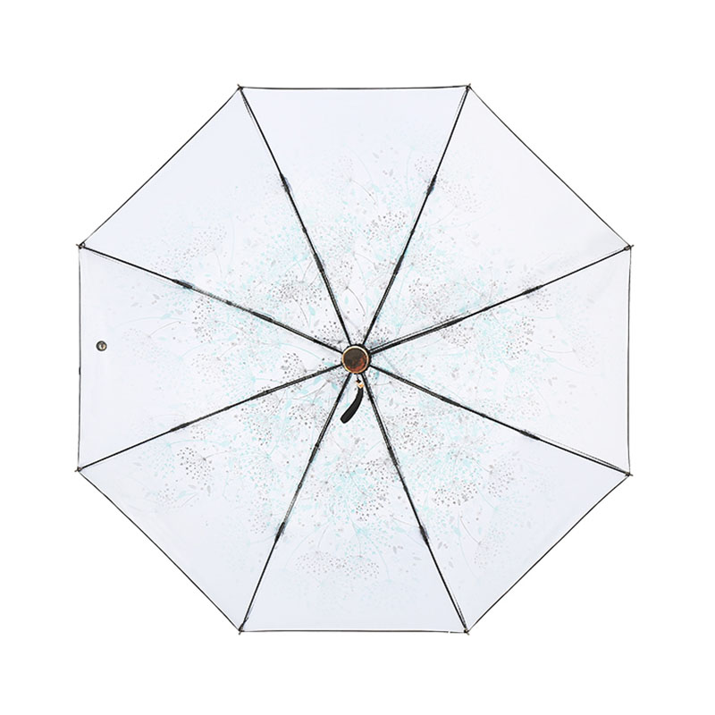 New three/five folding Umbrella Rain Women windproof Anti UV fashion sunscreen Umbrellas For Ladies Parasol Wind Resistant