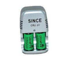 2 шт. 15270 CR2 800mAh батарея+ 3V CR2 зарядное устройство, литиевая батарея, перезаряжаемые батареи, цифровая камера, сделано из специального