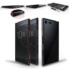 For Sony Xperia XZ Premium Bumper Cover Luxury Deluxe Ultra Thin Metal Aluminum Frame Case for Sony Xperia XZ Premium E5563 Case