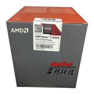 Image 3 - Amd ryzen 5 2600x r5 2600x3.6 ghz 6 코어 12 코어 95 w cpu 프로세서 yd260xbcm6iaf 소켓 am4