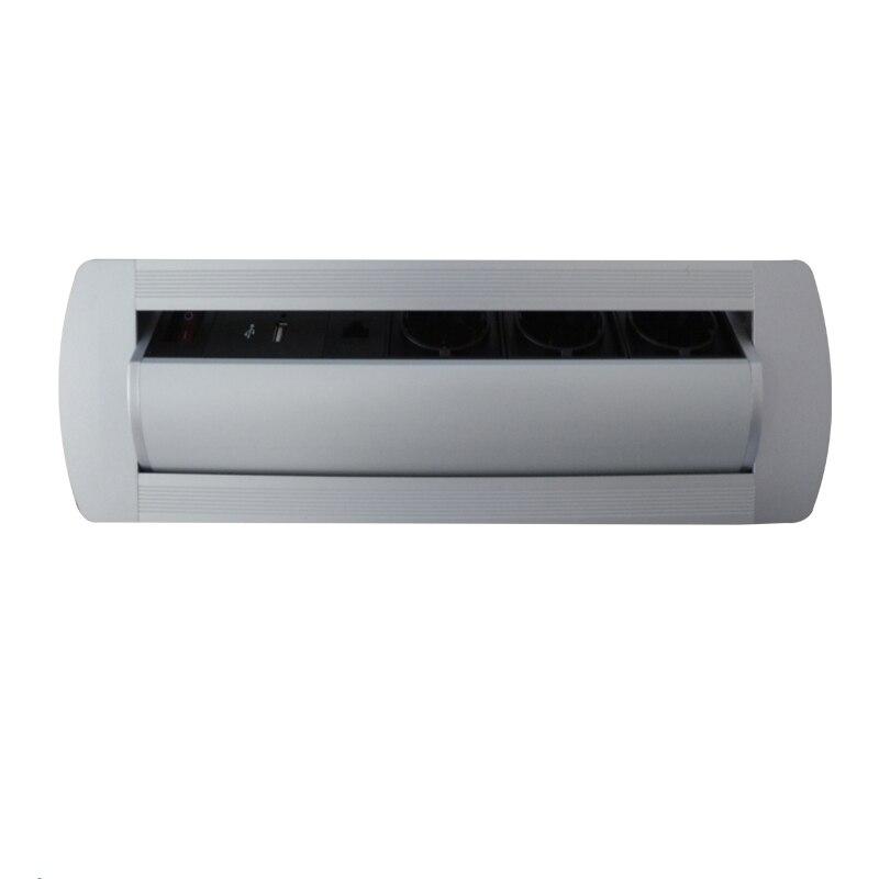 elétrica desktop manual lançando rotação soquete com ue eua plug and switch
