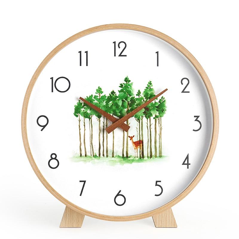 electronic thermometer desktop clock despertador reloj sobremesa decorativo al harameen small digital clock reloj pendulo watch desk horloge (16)