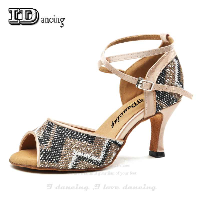 Glitter Zebra Shoes Modern Fashion Latin Shoes Woman Dance Shoes Gold Blue Autumn and Winter Zapatilla Mujer IDancing Glitter Zebra Shoes Modern Fashion Latin Shoes Woman Dance Shoes Gold Blue Autumn and Winter Zapatilla Mujer IDancing