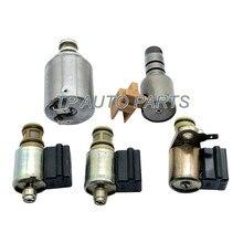 5 peças para 1 conjunto transmissão solenóide kit compatível com isu-zu troo-per haste-eo passagem-porto 1990-99 oem 4l30e