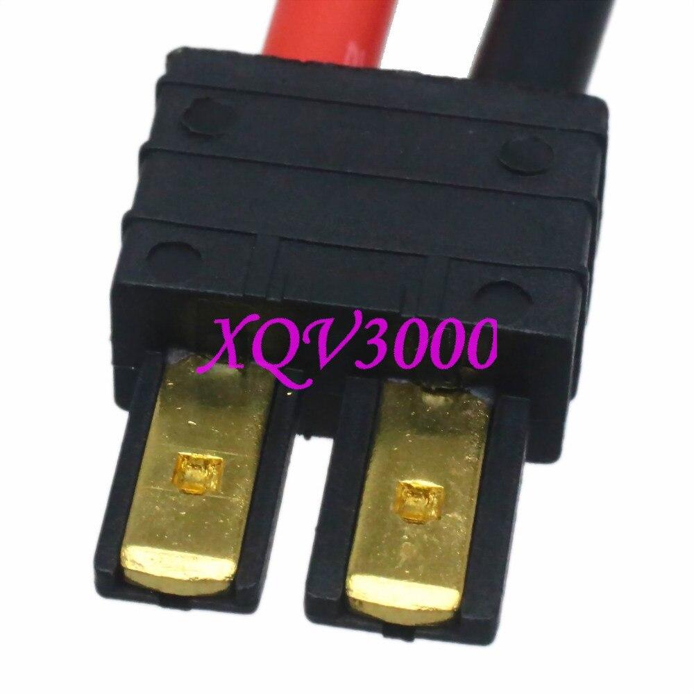 Traxxas TRX Stecker auf 5,5mm Kugel Buchse 5 CM 12awg Draht Kabel ...