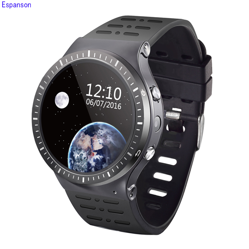 купить Espanson S99B Smart Watch 3G WiFi GPS Bluetooth Heart Rate Sport Wristwatch Phone Dial Call Camera Clock Fitness For iOS Android недорого