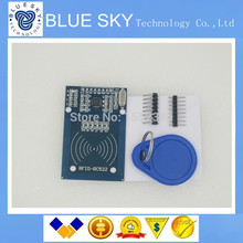 1PCS/LOT RFID module RC522 Kits S50 13.56 Mhz 6cm With Tags SPI Write & Read for arduino uno 2560