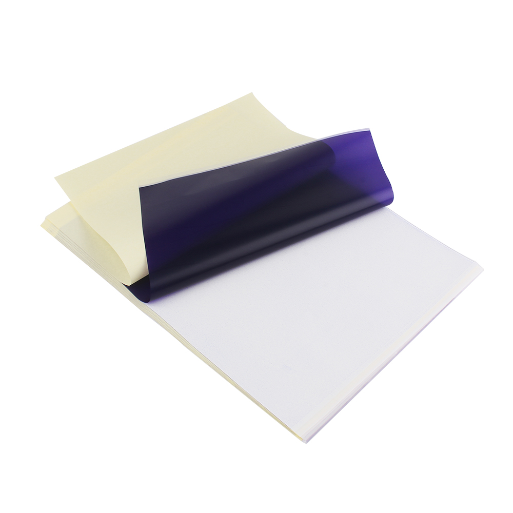 купить 10PCS Thermal Stencil Tattoo Transfer Paper A4 Size Thermal Paper Tattoo Accessories Tattoo Supplies Free Shipping по цене 295.48 рублей