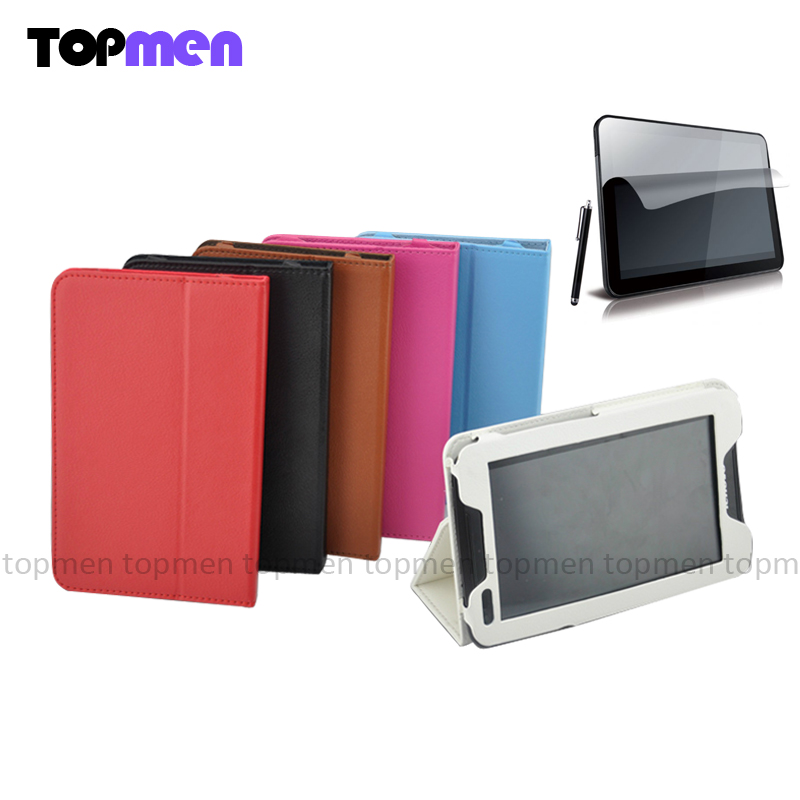Top Quality Fashion PU Leather Folio Stand Case Cover For Lenovo IdeaTab 7inch A1000 Tablet PC stands Notebook case аксессуар чехол lenovo ideatab s6000 g case executive white