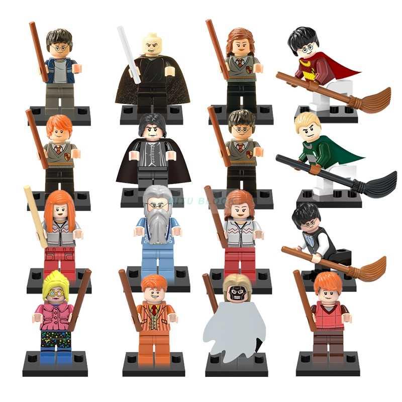 Singola Vendita Harry Magia Serie Figure Figura Hermione Ginny Ron Weasley Lord Voldemort Draco Malfoy Luna Piton Blocchi di Costruzione