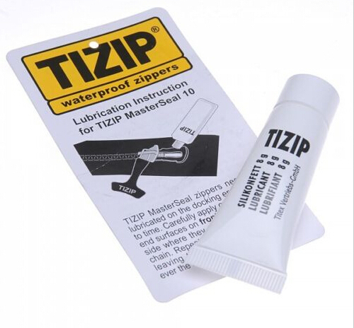 TIZIP Waterproof Zipper Care ZIP LUBRICANT 8g-Drysuit/Wetsuit/Diving/Ortlieb Bag  Canmore Bannatyne Moose Highland Bagpipe Pipes