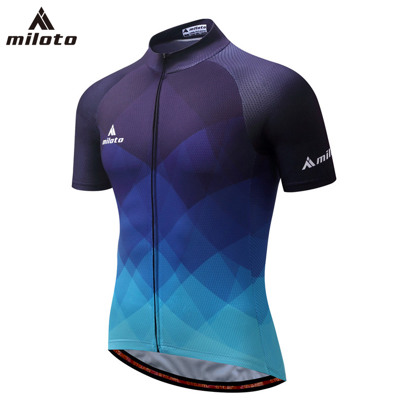MILOTO 2018 Cycling Jersey Ropa Ciclismo Summer Racing Bicycle Clothing Short sleeve MTB Bike Jersey shirt Tops Maillot Ciclismo 2017 maillot cycling jersey mtb bike clothing men bicycle clothes ropa de ciclismo cycle short sleeve shirt bicycle bike apparel