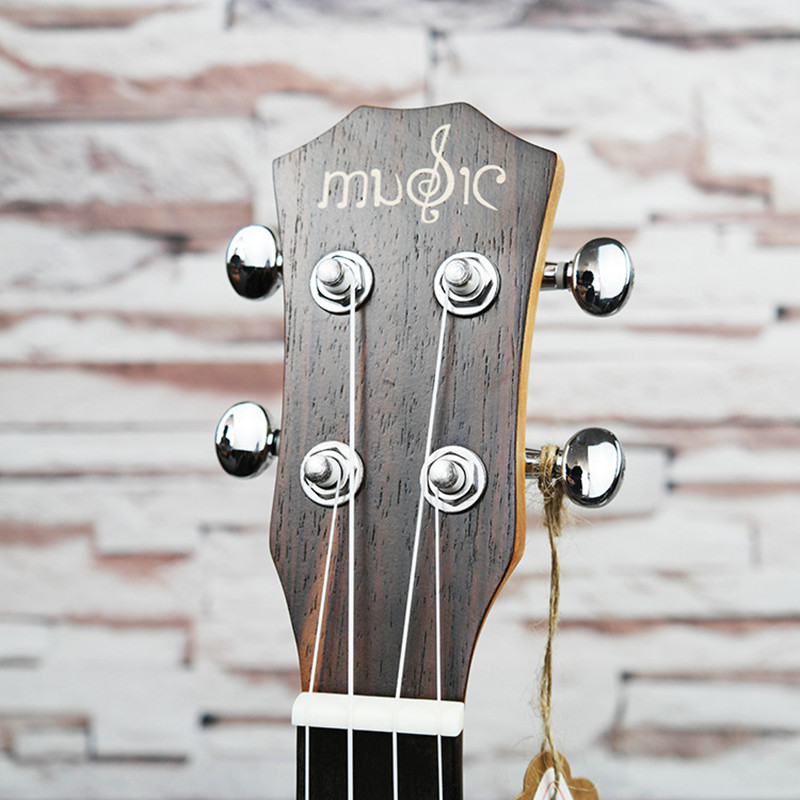 SevenAngel Concert ukulélé acoustique 23 pouces palissandre hawaïen 4 cordes guitare 17 Fret électrique Ukelele avec ramassage EQ - 5