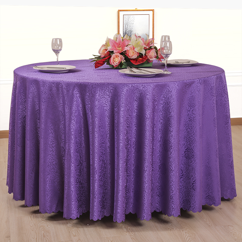 12 Color European Multi-purpose Hotel Tablecloth Restaurant Banquet Coffee Table Cloth Restaurant Rectangular Round Bar Cloth