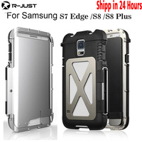 Brand Armor King Iron Man Steel Metal Shockproof Flip Case For Samsung Galaxy S7 Edge Protection