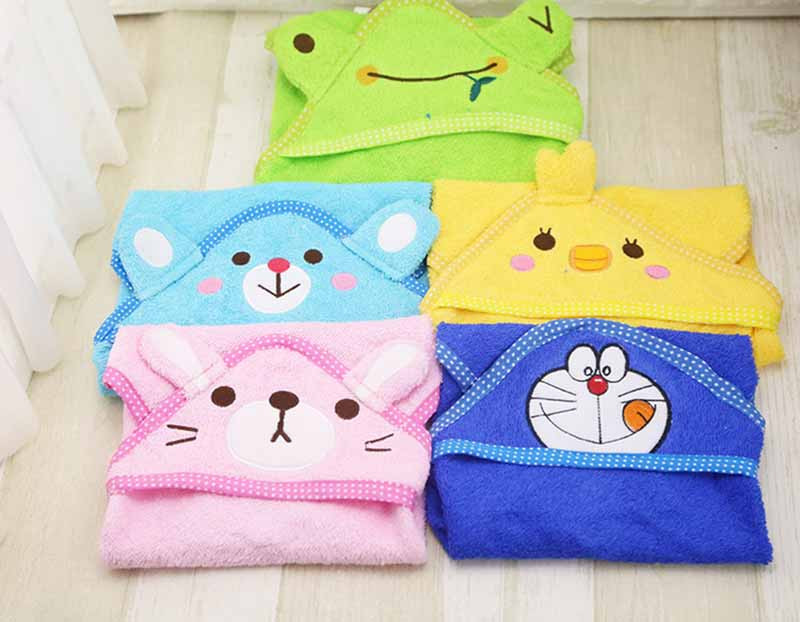 FD58 Free shipping Cartoon Pet Dog Bath Towel Funny Dog Blanket Super Absorbent Puppy Dog Cats Bathrobe Suit for Yorkie