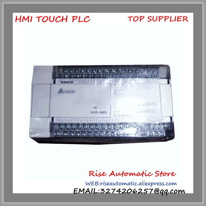 New Original Delta PLC EH3 series 100-240VAC 24DI 16DO Transistor output DVP48EH00T3 dvp40ec00t3 delta plc ec3 series 100 240vac 24di 24do new original transistor output