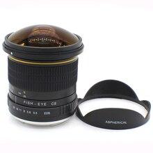 Kelda 8mm F/3.5 F3.5 Ultra Wide Fisheye camera LENS for Sony