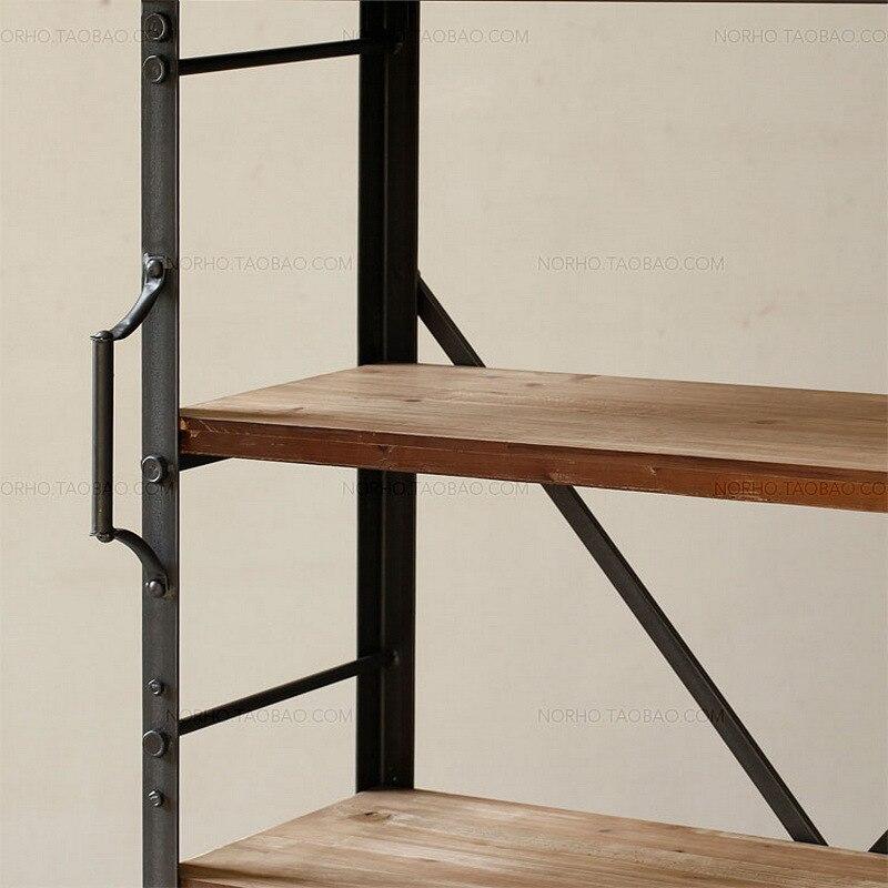 pueblo americano de lujo de poca de hierro forjado estantes de gama alta vintage de hierro forjado estanteras en soportes de esquina de mejoras para el