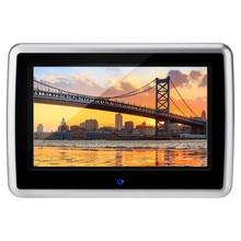 10,1 zoll Digitale Kapazität Touchscreen 1024*600 Auto-Styling Monitor Kopfstütze DVD-Player 1080 P SD USB Multimedia-funktion