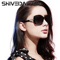 SHIVEDA Cool Square Sunglasses for Woman Big Frame Fashion HD Polarized Glasses Driving Sun Glasses UV400 Protection P25004