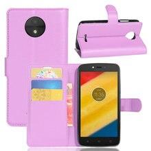 Для Motorola Moto C бумажник флип кожаный чехол для Motorola Moto c 4G XT1750 5,0 ''кожаный чехол для телефона с подставкой Etui>